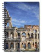 Roman Icon 8x10 Spiral Notebook
