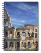 Roman Icon Spiral Notebook