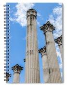 Roman Ruins Spiral Notebook
