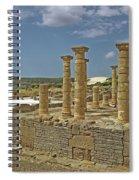 Roman Ruins Of Baelo Claudia Spiral Notebook