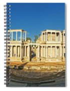 roman theatre in Merida Spiral Notebook