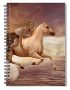 Romance In Her Dream Spiral Notebook