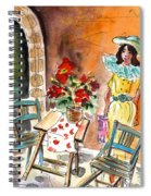 Romance In Siracusa Spiral Notebook