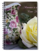 Romance Is The Dance Of Life Spiral Notebook