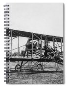 Romance Of Flight C. 1905 Spiral Notebook