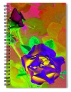 Romancing The Rose Spiral Notebook