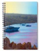 Romantic Beach Spiral Notebook