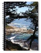 Romantic California Coast Spiral Notebook