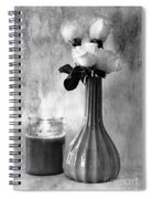 Romantic Light Spiral Notebook
