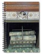 Romantic Militaria Mantelpiece Spiral Notebook