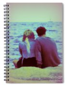 Romantic Seaside Moment Spiral Notebook