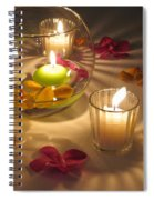 Romantic Setting Spiral Notebook