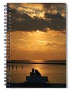Romantic Sunrise Spiral Notebook