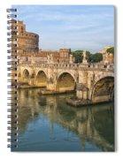 Rome Castel Sant Angelo 01 Spiral Notebook