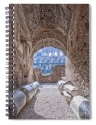 Rome Colosseum Interior 01 Spiral Notebook