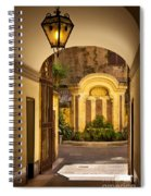 Rome Entry Spiral Notebook