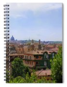 Rome Rooftop Spiral Notebook