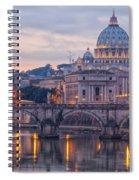 Rome Saint Peters Basilica 01 Spiral Notebook