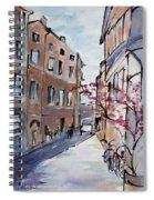 Rome Street Scene IIi Spiral Notebook