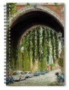 Rome Street Scene Spiral Notebook