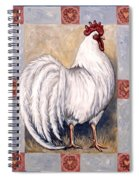 Romeo The Rooster Spiral Notebook