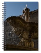 Rome's Fabulous Fountains - Piazza Farnese Fountain Spiral Notebook