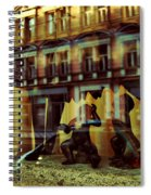 Romus And Romulus Spiral Notebook