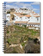 Ronda Old City In Spain Spiral Notebook