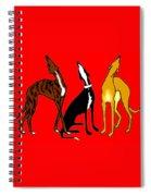 Roo Greyhounds Spiral Notebook