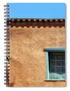 Roof Corner With Ladder And Window Spiral Notebook