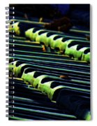 Roof Grounded Spiral Notebook