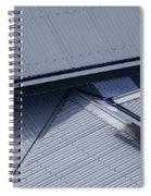 Roof Lines - Montague Island - Australia Spiral Notebook