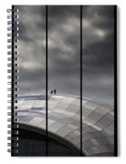 Roof Of The Sage Spiral Notebook