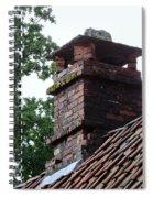 Roof Tops 2 Spiral Notebook
