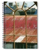 Roof Tops Spiral Notebook