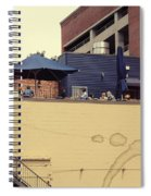Rooftop Lunch Spiral Notebook