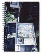 Rooftop Of Museum Of Modern Art Spiral Notebook