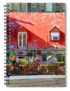 Rooftop Patio Spiral Notebook
