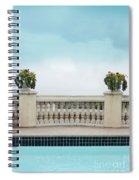Rooftop Pool Spiral Notebook
