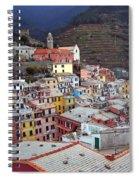 Rooftop View Spiral Notebook
