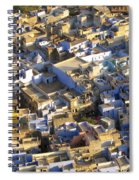 Rooftops In India Spiral Notebook