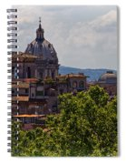 Rooftops Of Rome Spiral Notebook