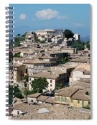 Rooftops Of The Italian City Spiral Notebook