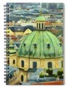 Rooftops Of Vienna Spiral Notebook