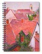 Rooftops Trogir Croatia Spiral Notebook