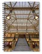 Rookery Building Lobby Spiral Notebook