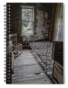 Room At The Wells Hotel - Montana Spiral Notebook