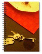 Room Key To The Caesar House In Rome Spiral Notebook