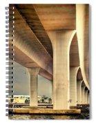 Roosevelt Bridge-1 Spiral Notebook