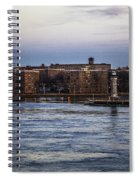 Roosevelt Island View - Nyc Spiral Notebook